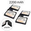 lot de batteries pour sous-gants chauffants sancy