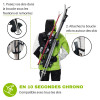 SkiBack Double - Porte skis - wantalis