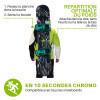 Porte snowboard Sufback - wantalis