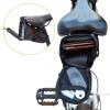 sacoche de selle vélo avec poche intérieure filet