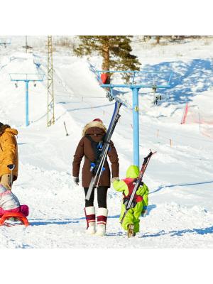 Porte-skis enfant SkiBack 7