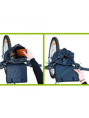 sacoche guidon vélo intérieur et fermeture