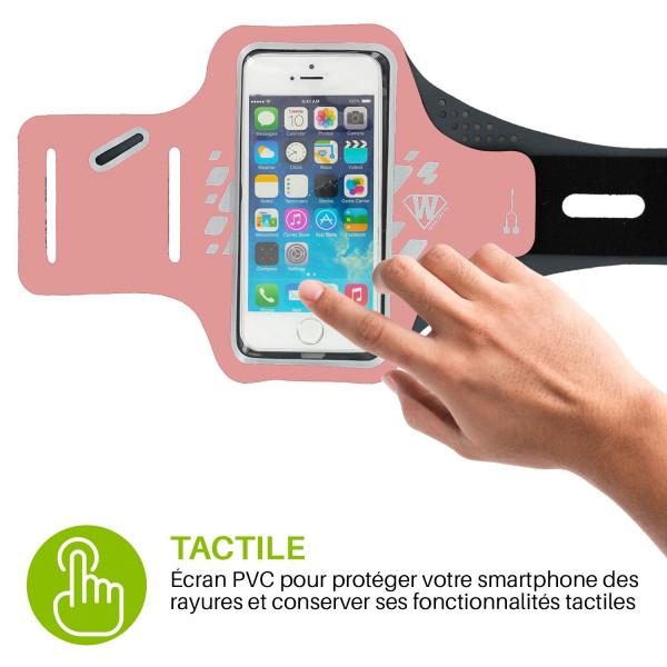 brassard de running pour smartphone Athlète - Wantalis