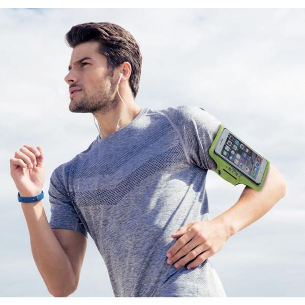 brassard de running pour smartphone Athlète - Wantalis - ambiance2