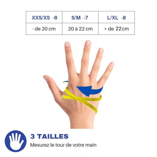 Sancy - Sous-gants chauffants tactiles