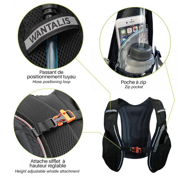 Hydrabag 1500 - tuyau eau, attache sifflet
