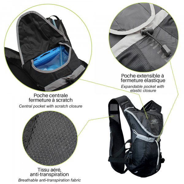 Hydrabag 1500 - poches extensibles