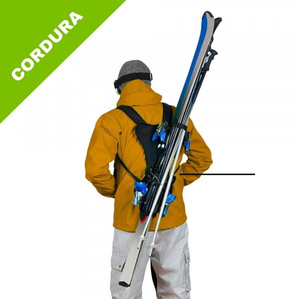 porte skis - skiback cordura - wantalis
