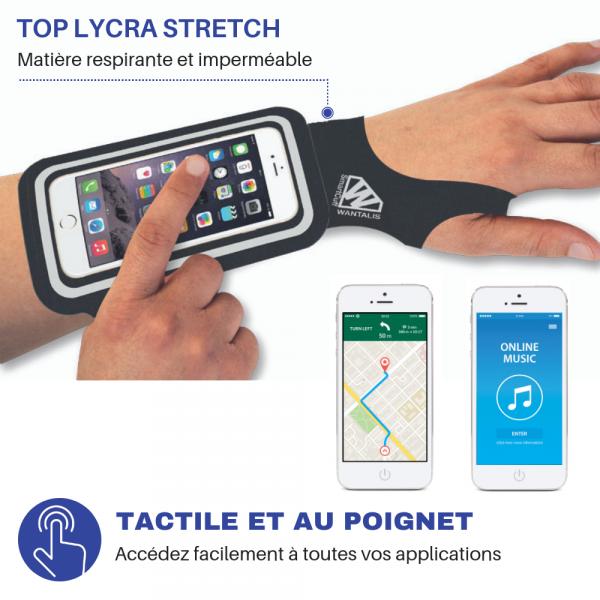 étui smartphone poignet - smartcuff 2