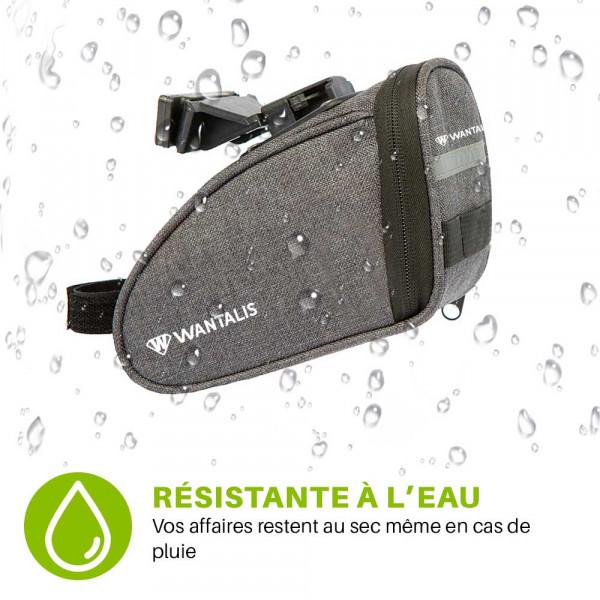 pochette de selle vélo résistante à la pluie