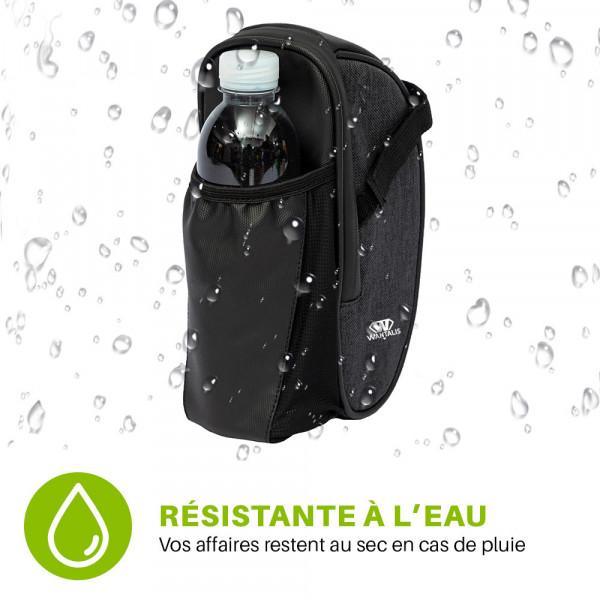 sacoche de selle vélo résistante à l'eau