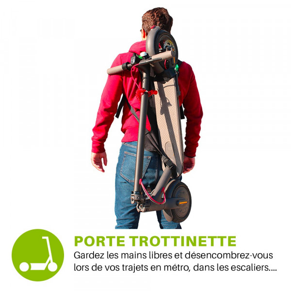 Trotback, porte trottinette - wantalis