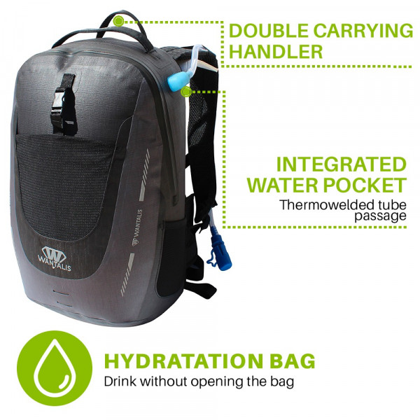sac étanche IPX8 - WaveBag ULTIM - 20 L - Wantalis