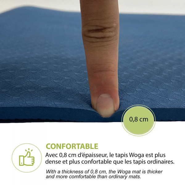 Woga yoga - épaisseur - wantalis